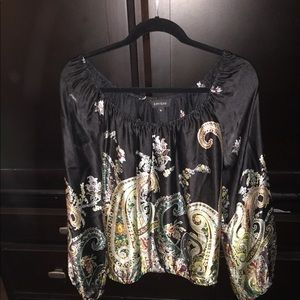 Karen Kane long sleeve blouse